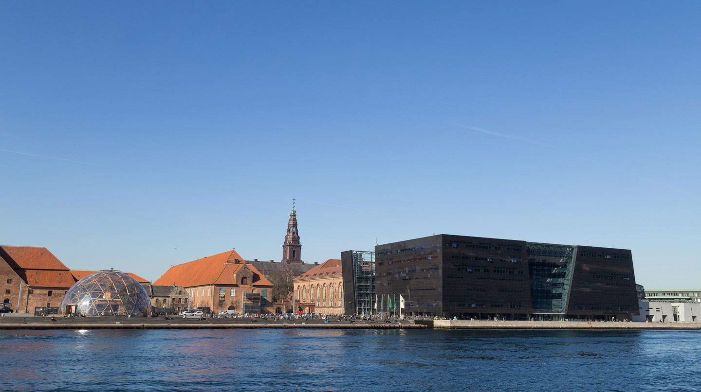 The sleek new building of the Royal Danish Library holds historical treasures