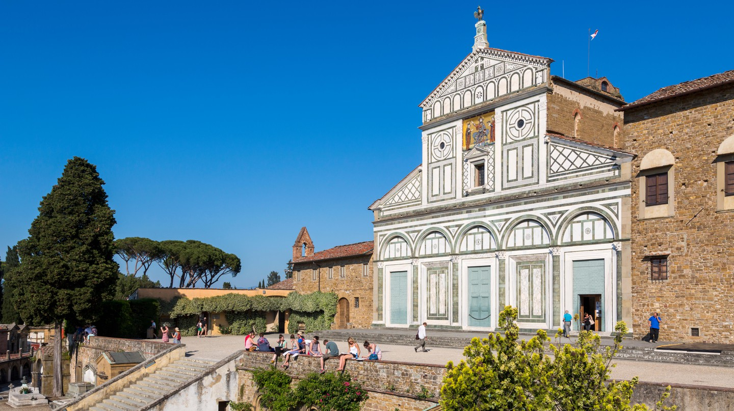 Take a peek behind the walls of San Miniato al Monte in Florence