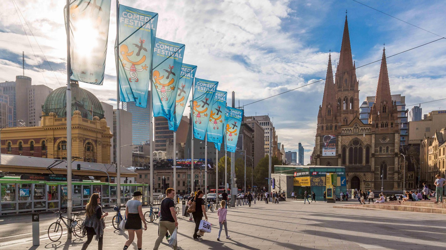 Federation Square is among the most popular destinations in Melbourne