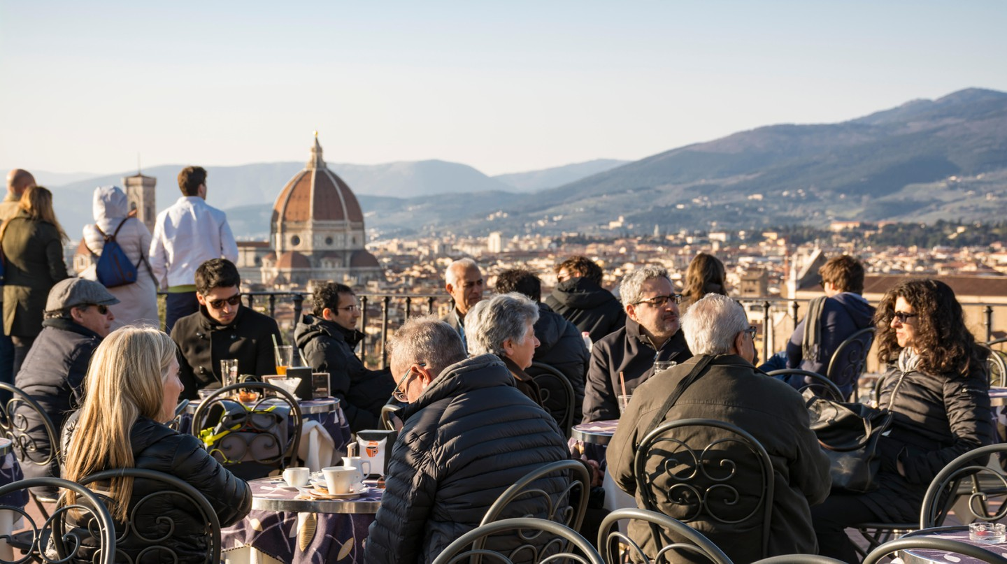 Florence is home to plenty of cafés that serve excellent coffee