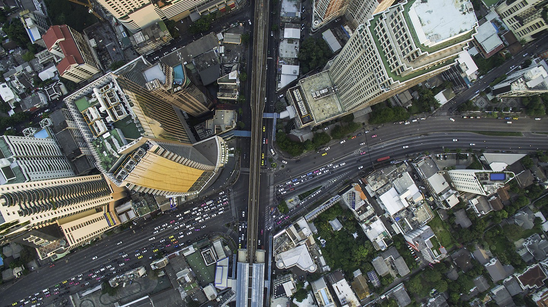 Sukhumvit Road is one of Bangkok's main arteries