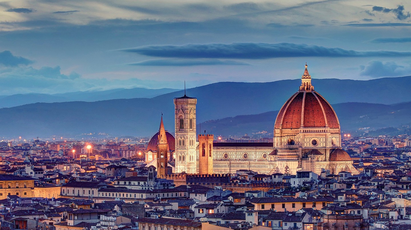The Cathedral of Santa Maria del Fiore is a spectacular building you will find in many films set in the capital of Tuscany