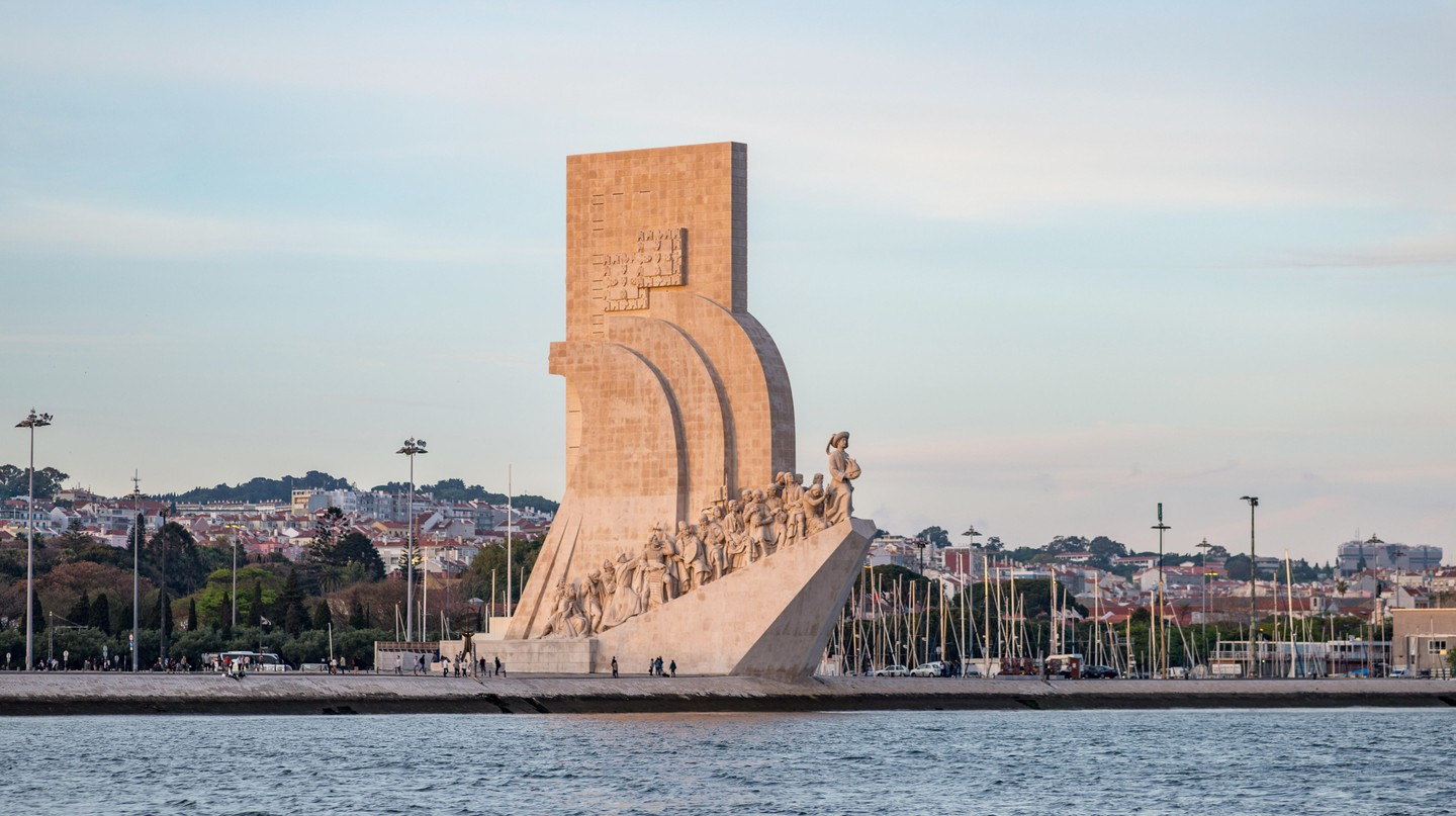 Padrão dos Descobrimentos is a monument to Portugal's Age of Discovery in the 15th and 16th centuries