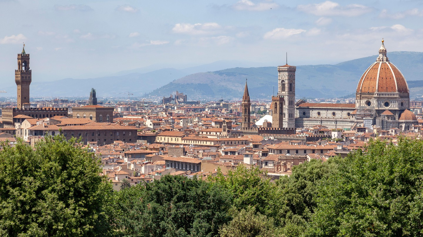 Despite the historical setting, there are budget hotels to be found in Florence