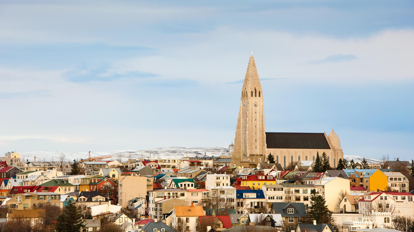 Hallgrimskirkja is an unmissable feature of the Reykjavik skyline