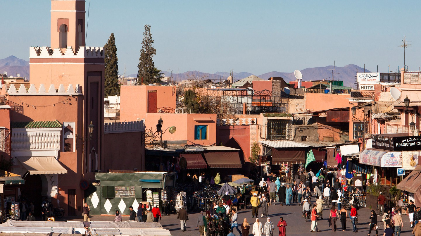 The Medina of Marrakech is a vibrant area full of activity