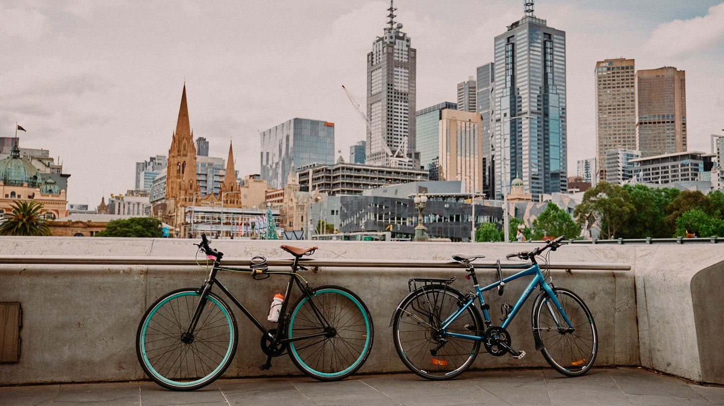 A local bike curator and artist discusses how his business, the Pedal Cyclery, is contributing towards a healthier and more sustainable Melbourne