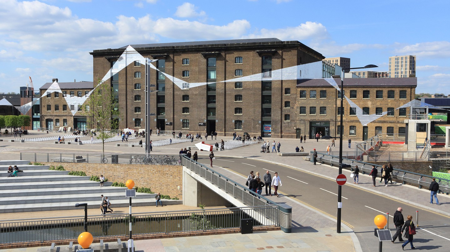 King's Cross is a central transportation hub, making it a good home base for exploring London