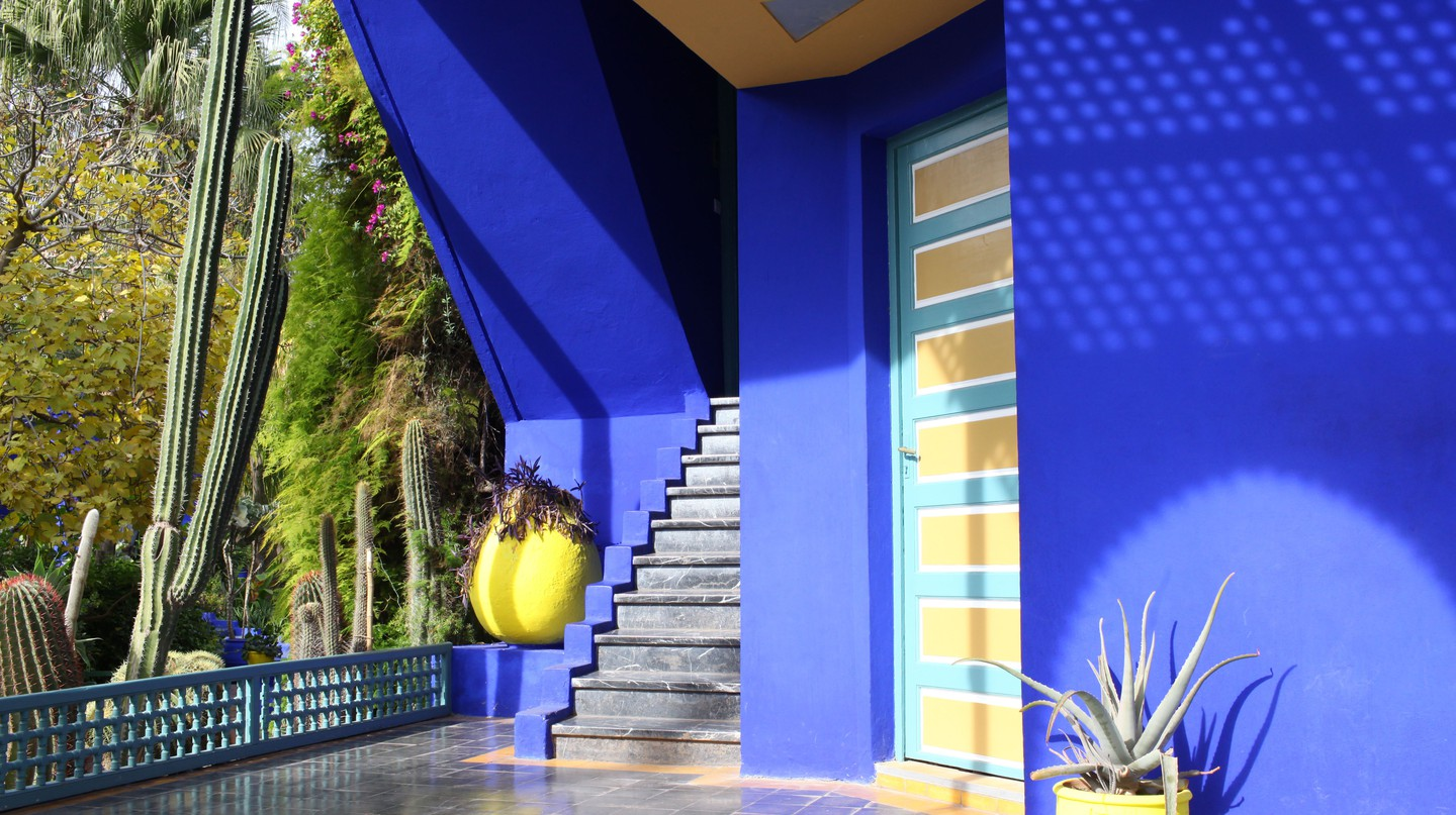The Majorelle Gardens are home to the Berber Museum