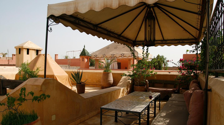 Riad in Marrakech, Morocco.