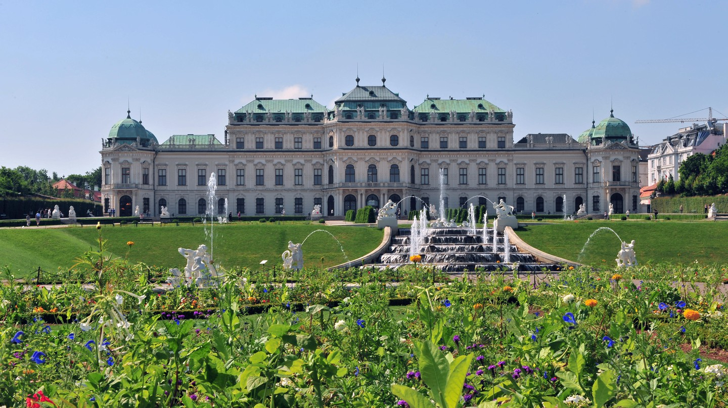 Belvedere Palace is a UNESCO World Heritage Site