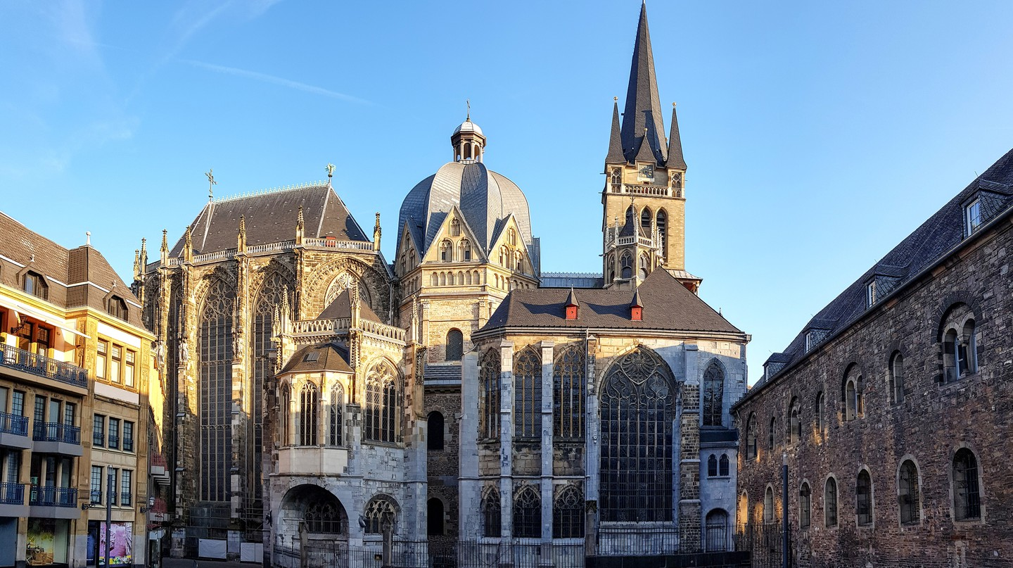 Aachen Cathedral was the first site in Germany to be granted UNESCO World Heritage status