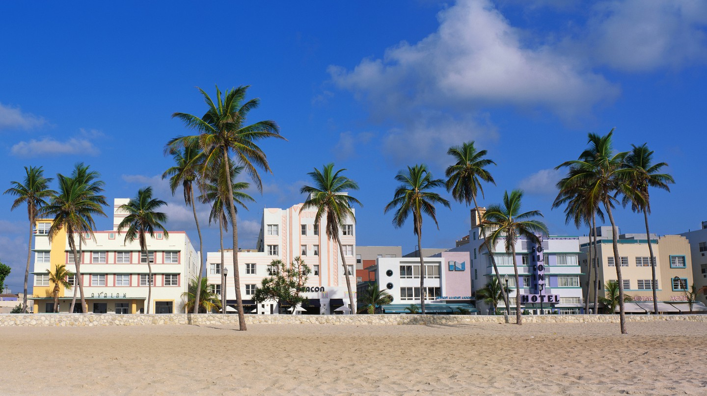 South Beach Miami is home to the Art Deco Historic District