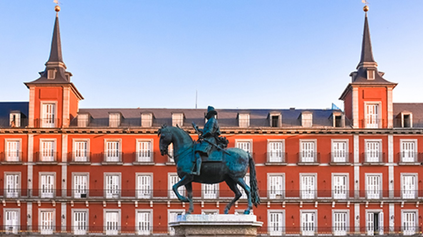Madrid's Plaza Mayor is an architecture lover's dream
