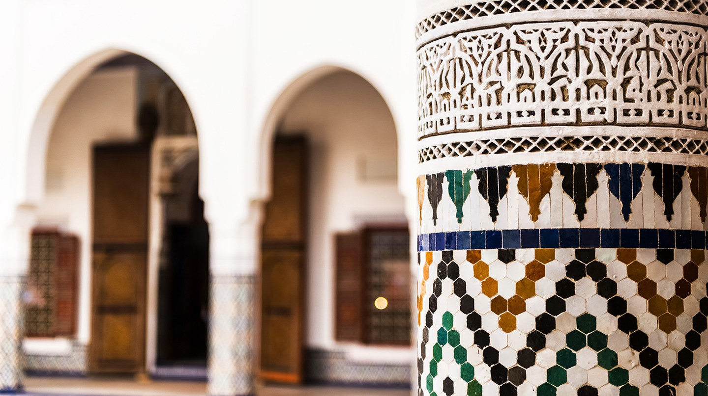 Ben Youssef's Medersa is is one of the most beautiful expressions of Islamic architecture in Marrakech