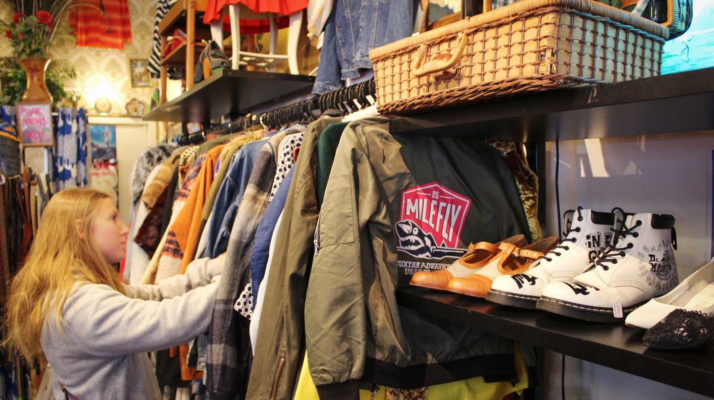 Find pre-loved jackets, shoes and more at vintage store Hunter Gatherer in Fitzroy