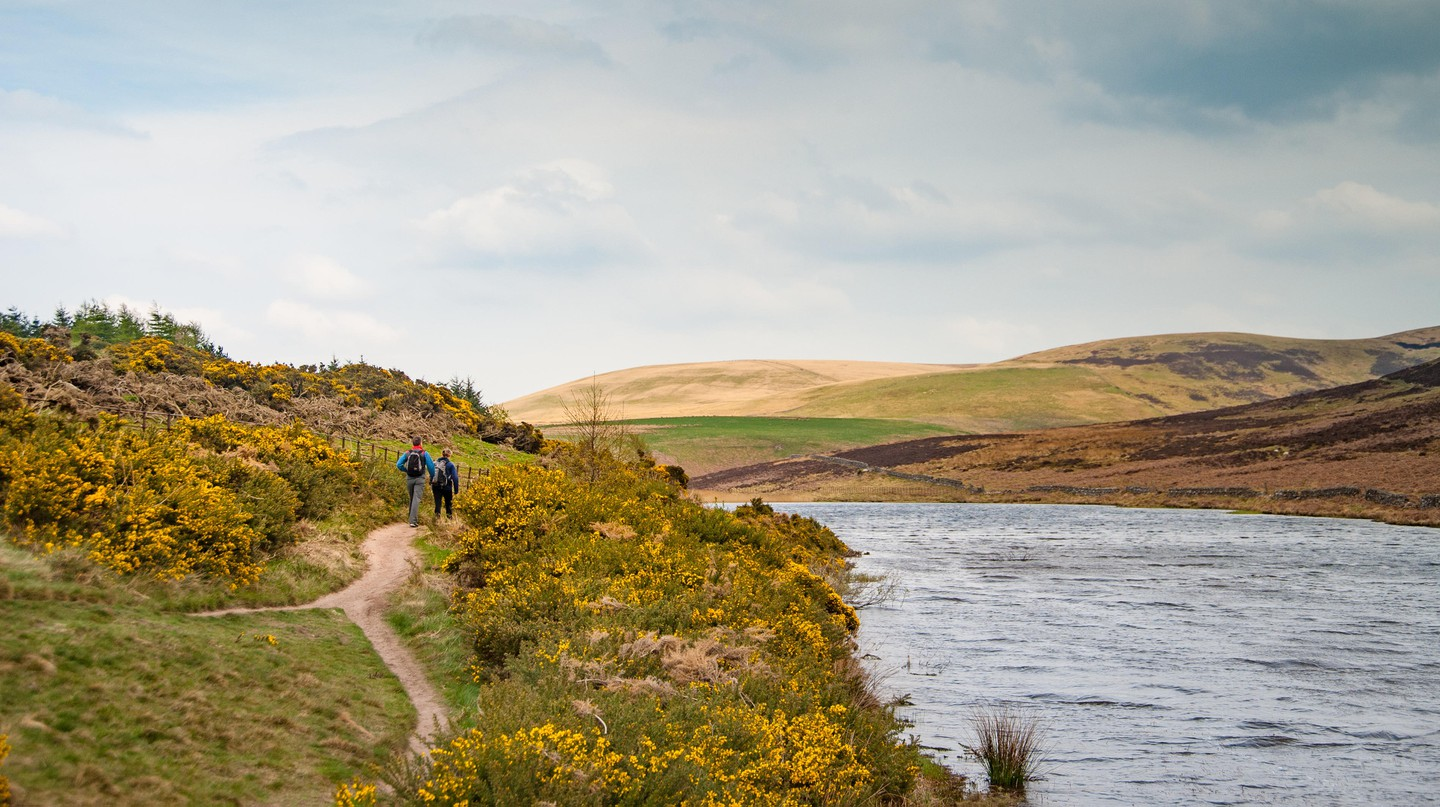 Hiking in the Pentland Hills is one of the memorable experiences offered by local guides in Edinburgh