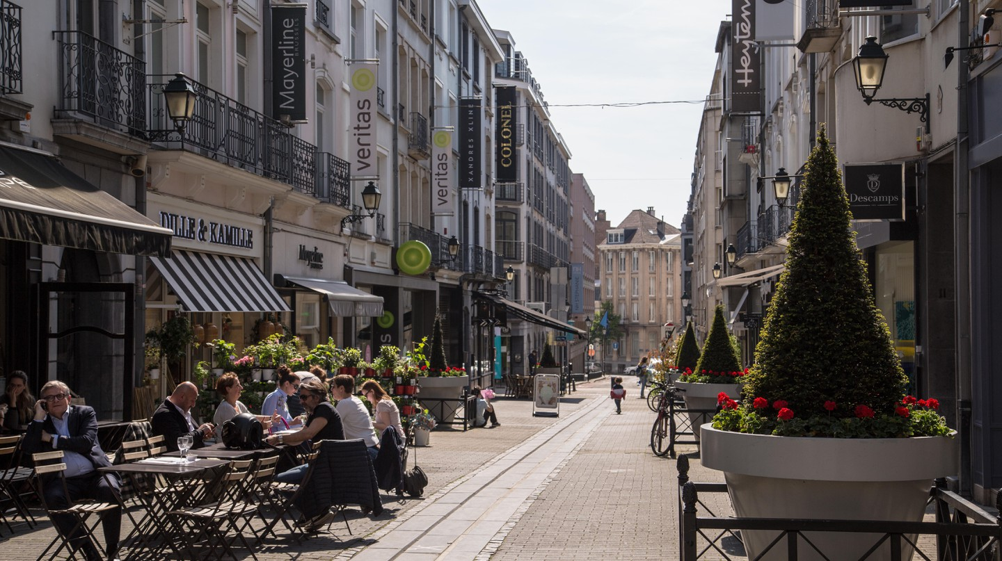 Brussels's Ixelles neighbourhood is known for its Art Nouveau architecture