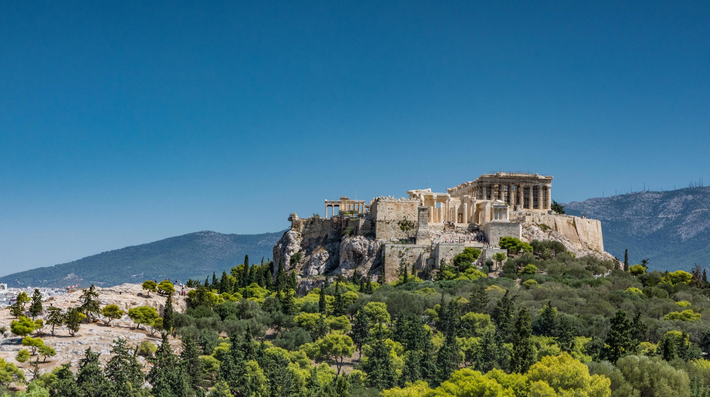 Visit the Acropolis on a trip to the Greek capital, Athens