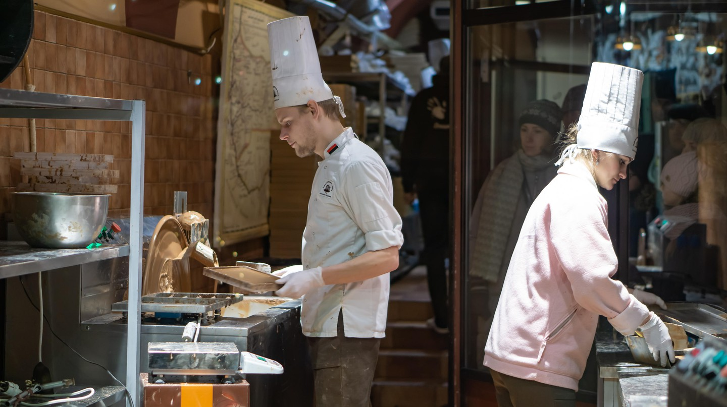 Brussels is a proud home to many artisanal chocolate workshops