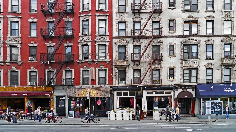 Restaurants in The East Village area of Manhattan
