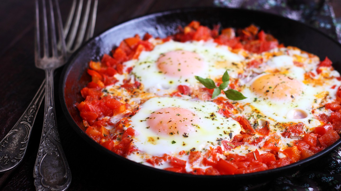Shakshuka can be found throughout the Middle East, but its exact origin is unknown