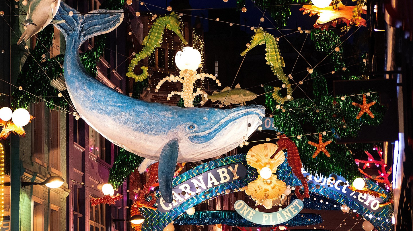 London's lights, shops and restaurants are extra magical around Christmas