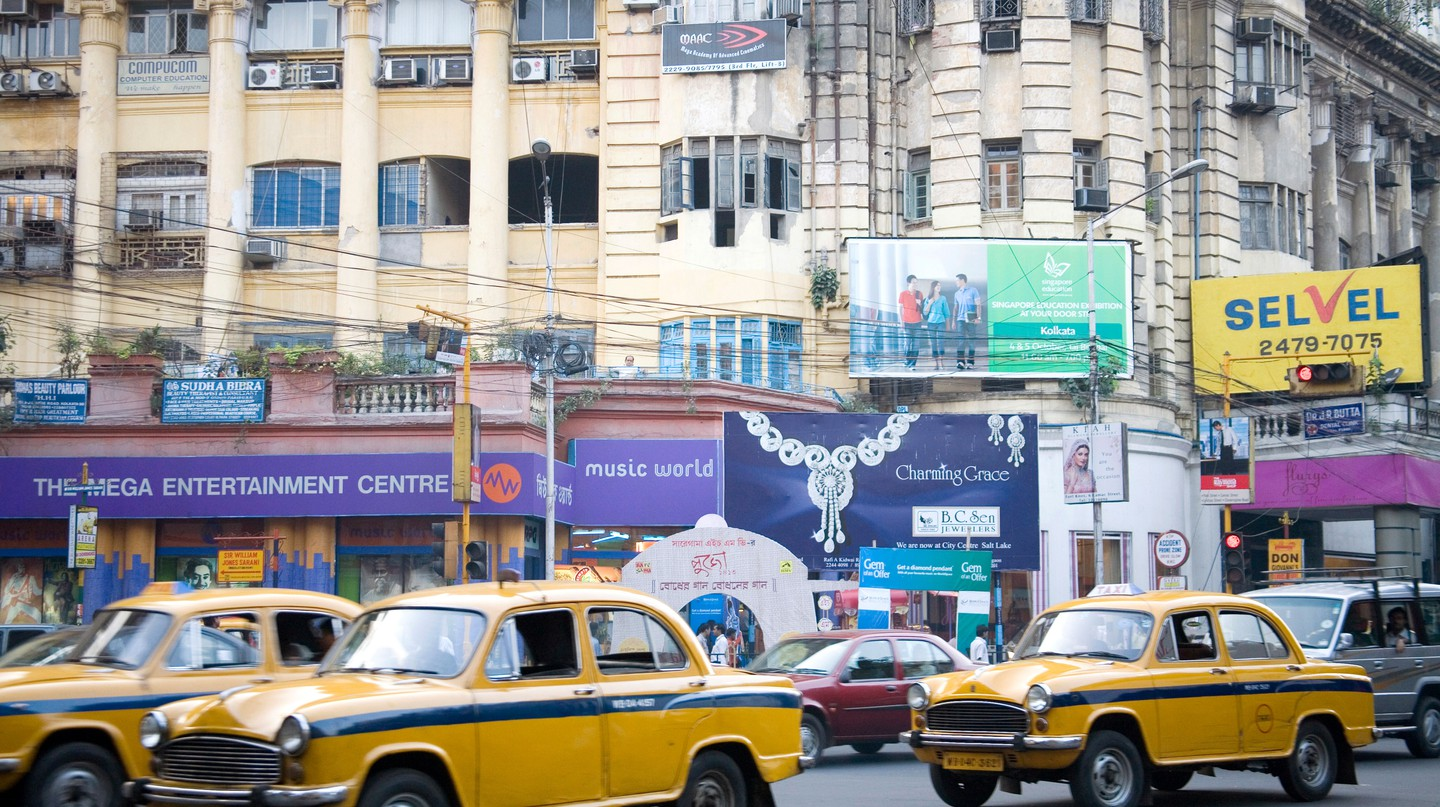 Park Street is the heart of Kolkata