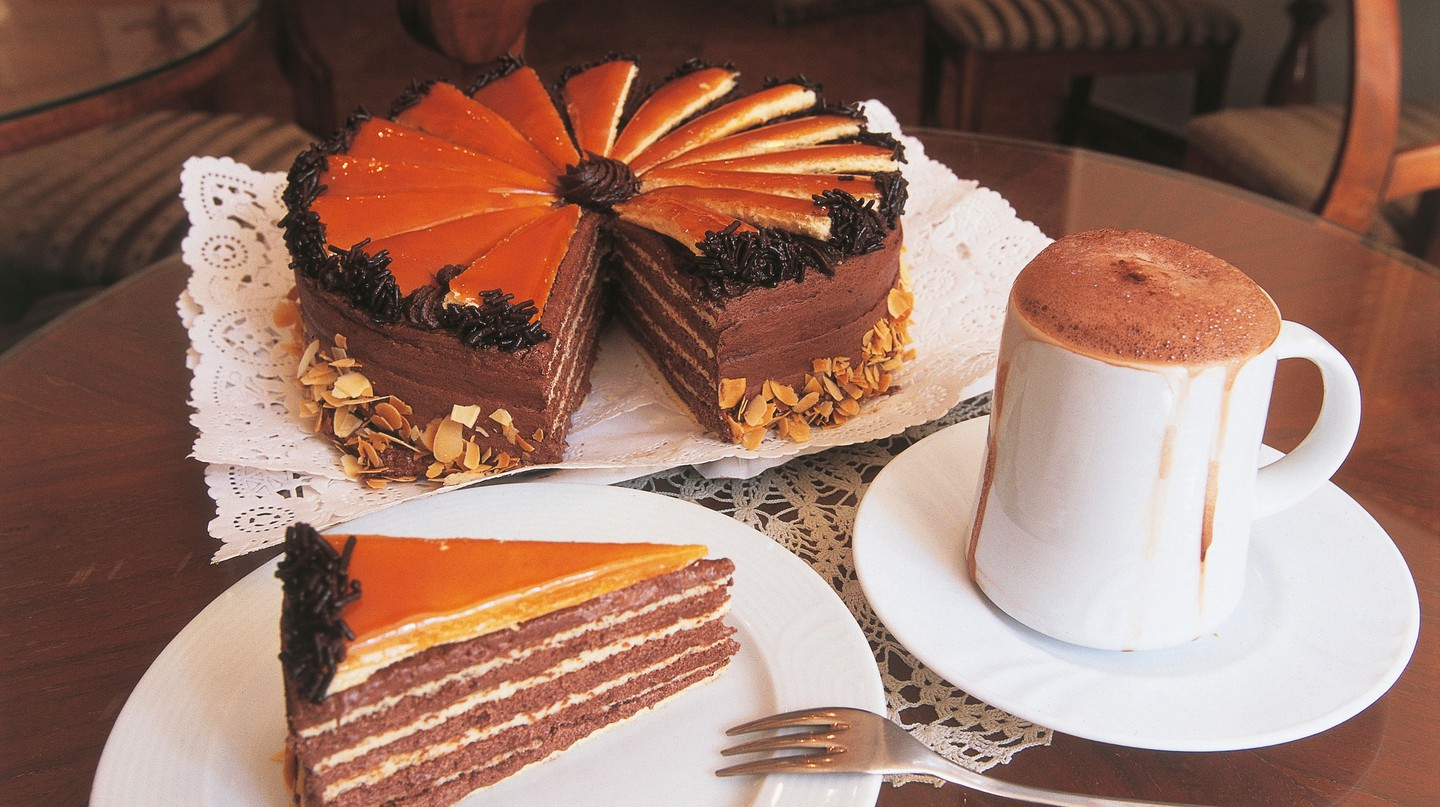Dobos cake has been dubbed the most famous cake in Hungary