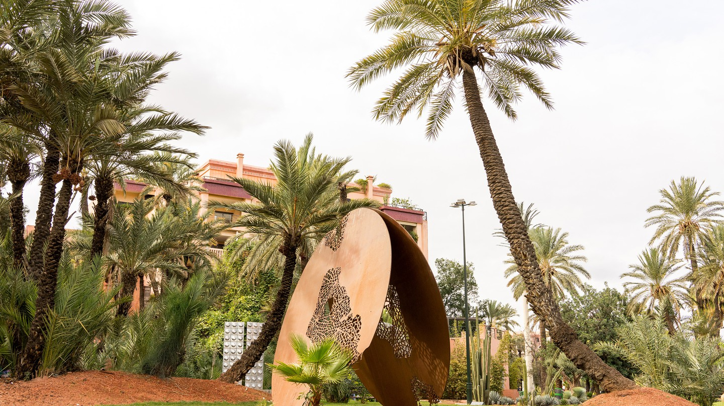 Marrakech is one of the major players in Africa's burgeoning arts scene, as evidenced by Le Jardin des Arts in Gueliz