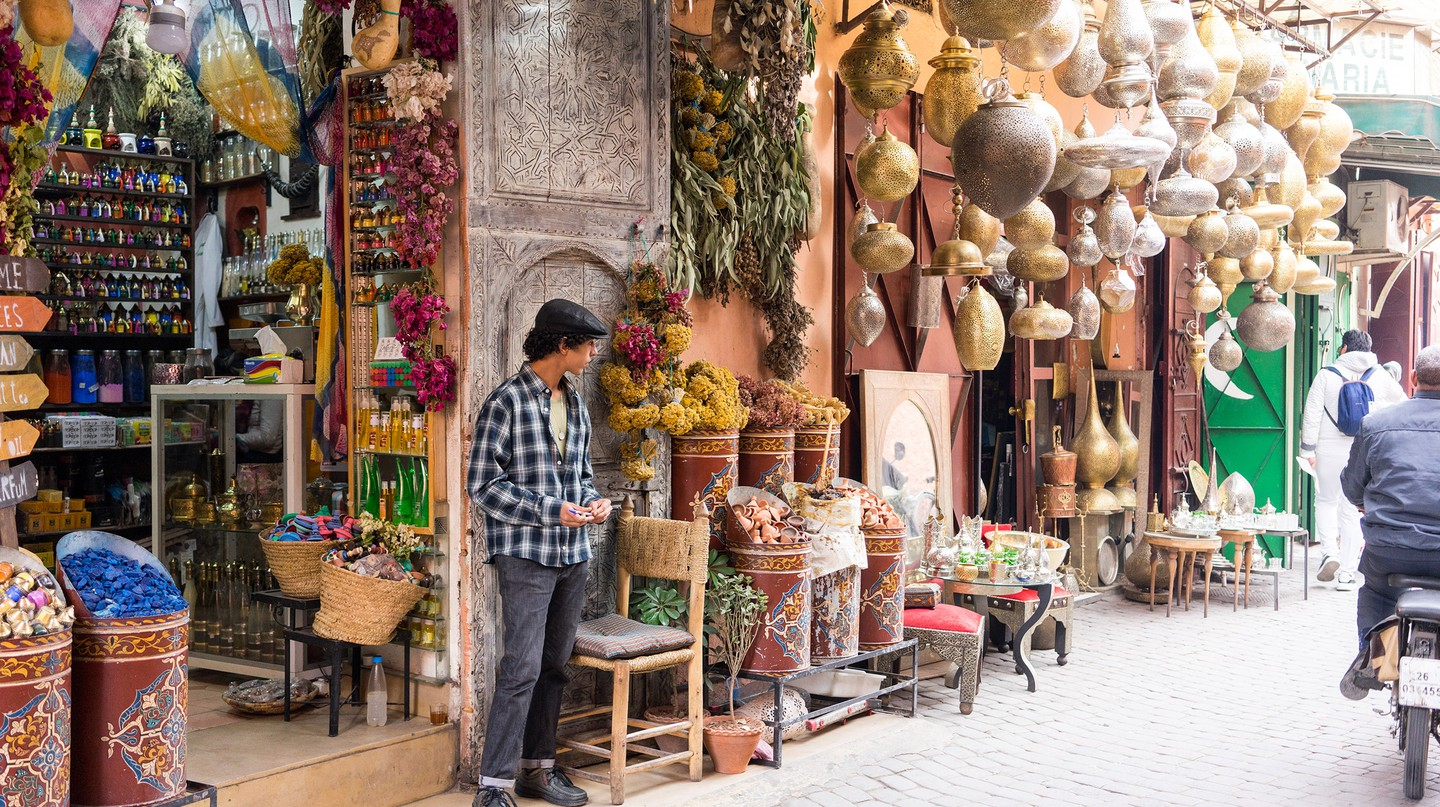 The Mellah in Marrakech offers insights into Morocco's Jewish history