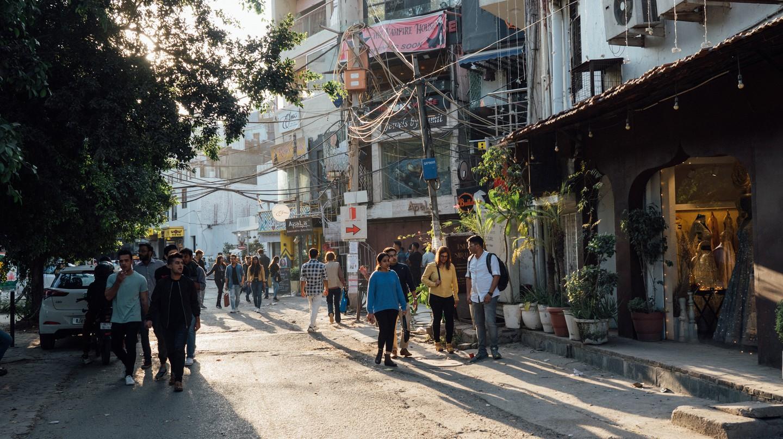 Delhi's Hauz Khas Village is a vibrant neighbourhood brimming with shops, restaurants and bars