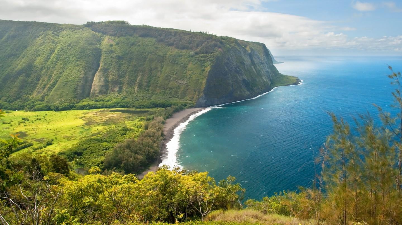 Waipio valley lookout, Big Island (Hawai'i)
