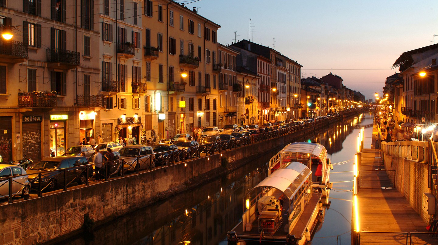 Find out where to have a drink in Navigli, Milan