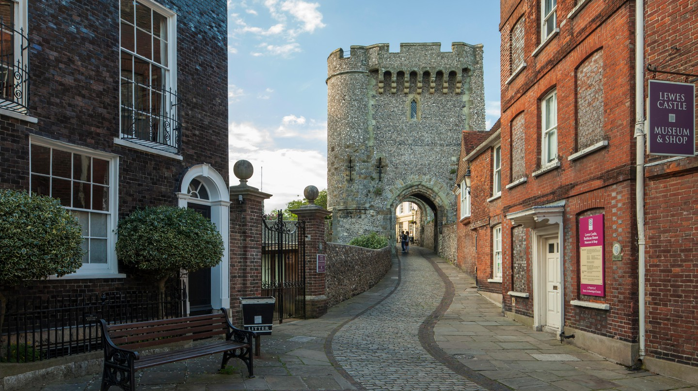 Lewes Castle dates back to the 11th century