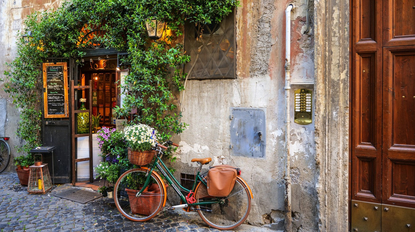 The charm of Rome's Trastevere district makes it a popular spot to stay