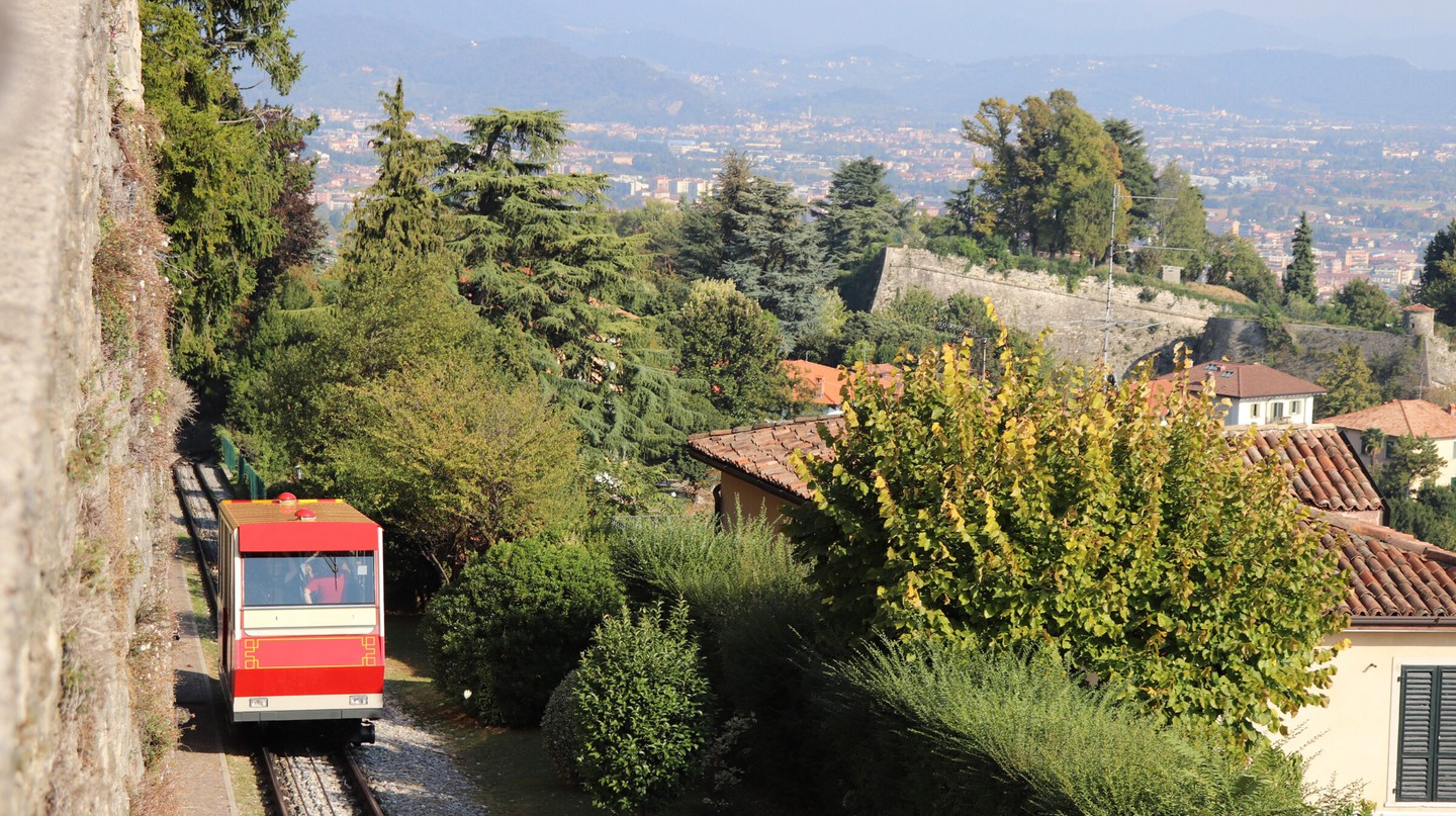 You can travel across Italy by train