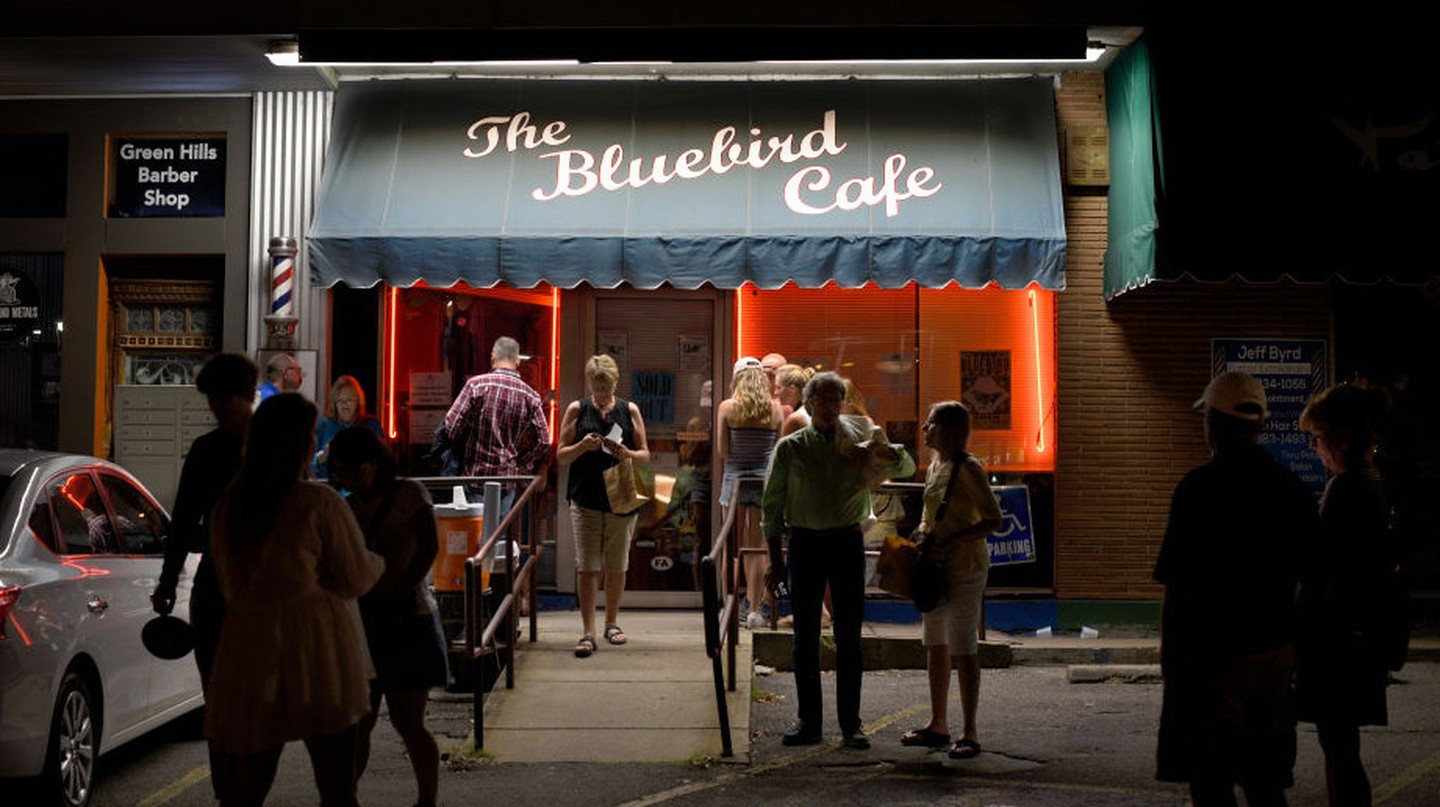 The iconic Bluebird Cafe in Nashville has long drawn nightly crowds