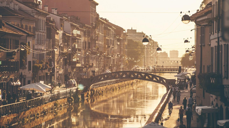 Stroll along Milan's Naviglio Grande
