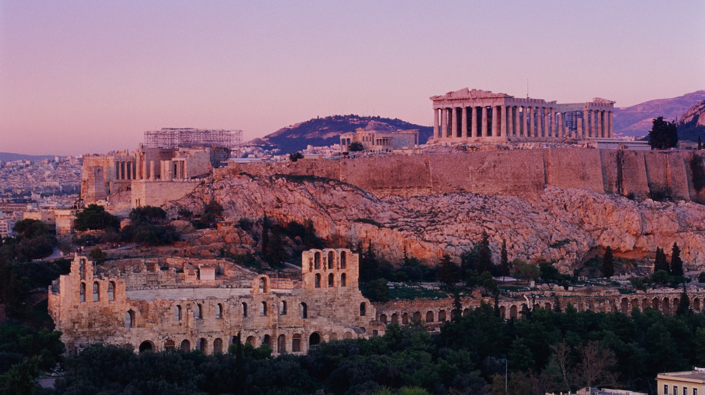 In addition to a wealth of ancient architecture, Athens has no shortage of wellness-boosting options