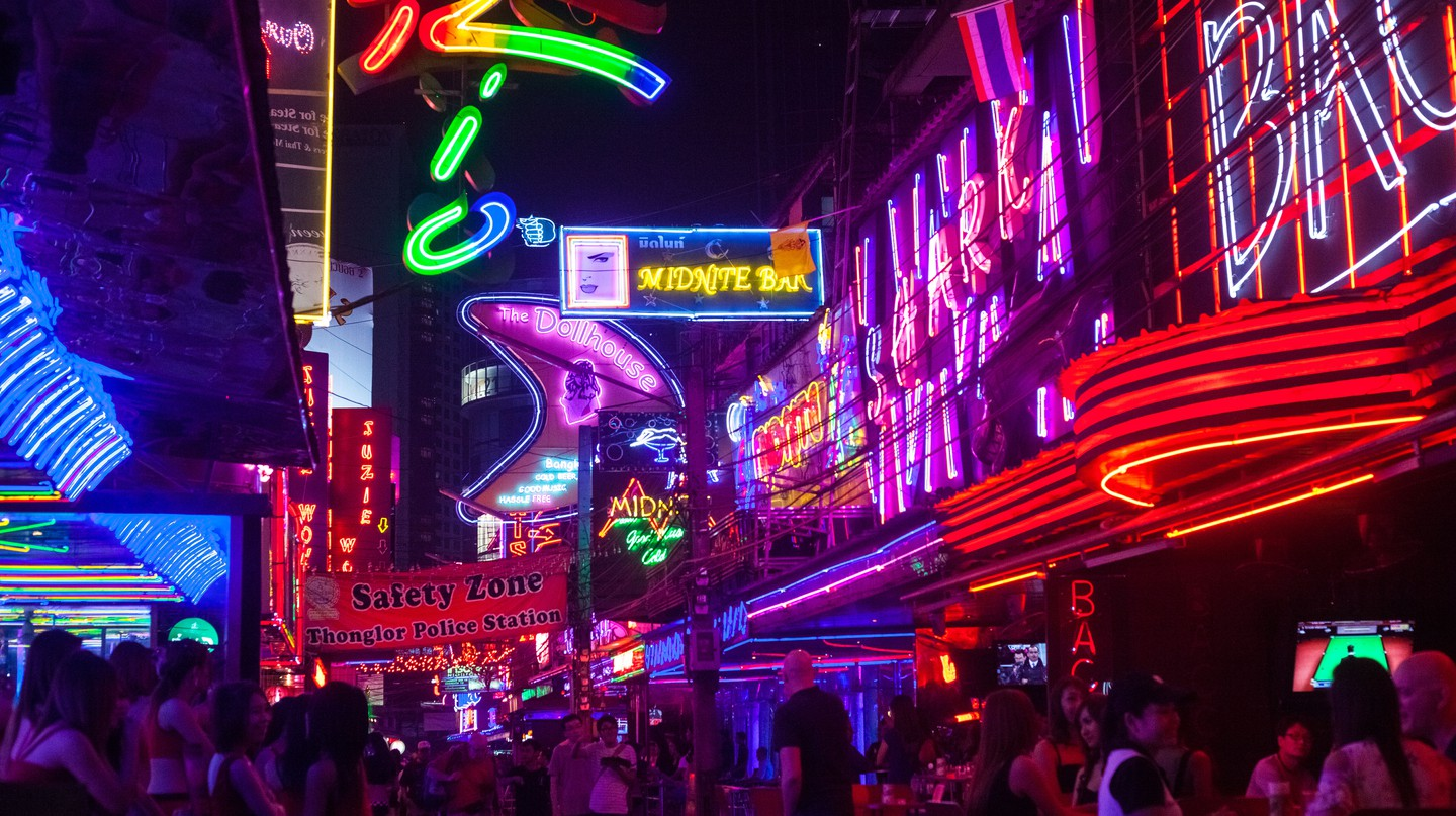Bangkok is known for its exuberant nightlife