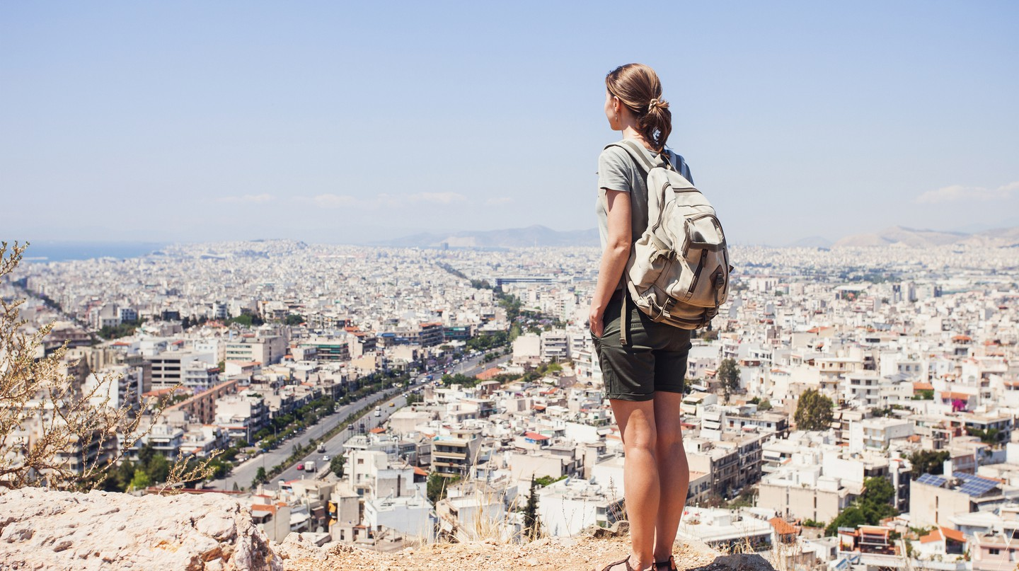 Athens's varied landscape makes for an abundance of vantage points over the city