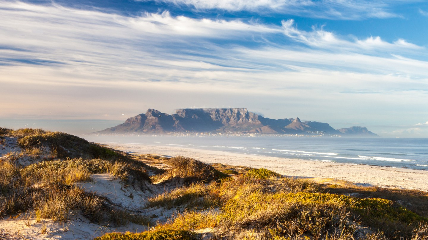 Cape West Coast has the perfect vantage point of Table Mountain