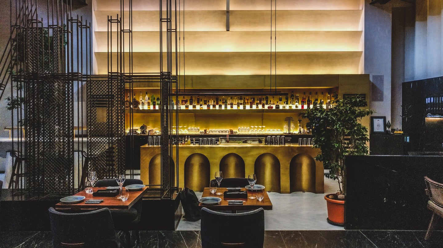 Masque is just one of Mumbai's farm-to-table eateries, and also has a fantastic bar