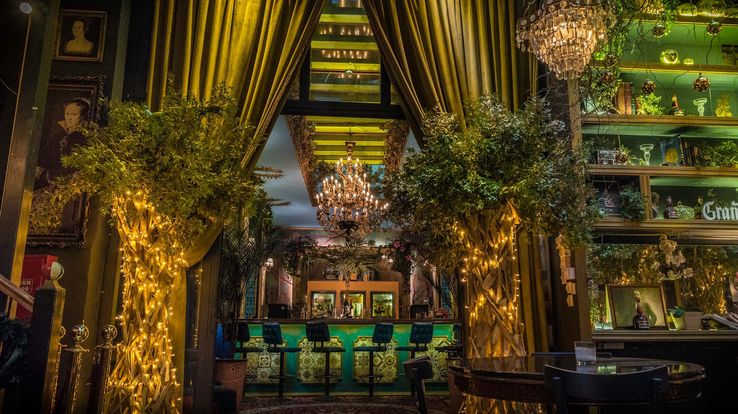Renowned cocktail bar Noel is beloved for its opulent, Baroque-inspired interior