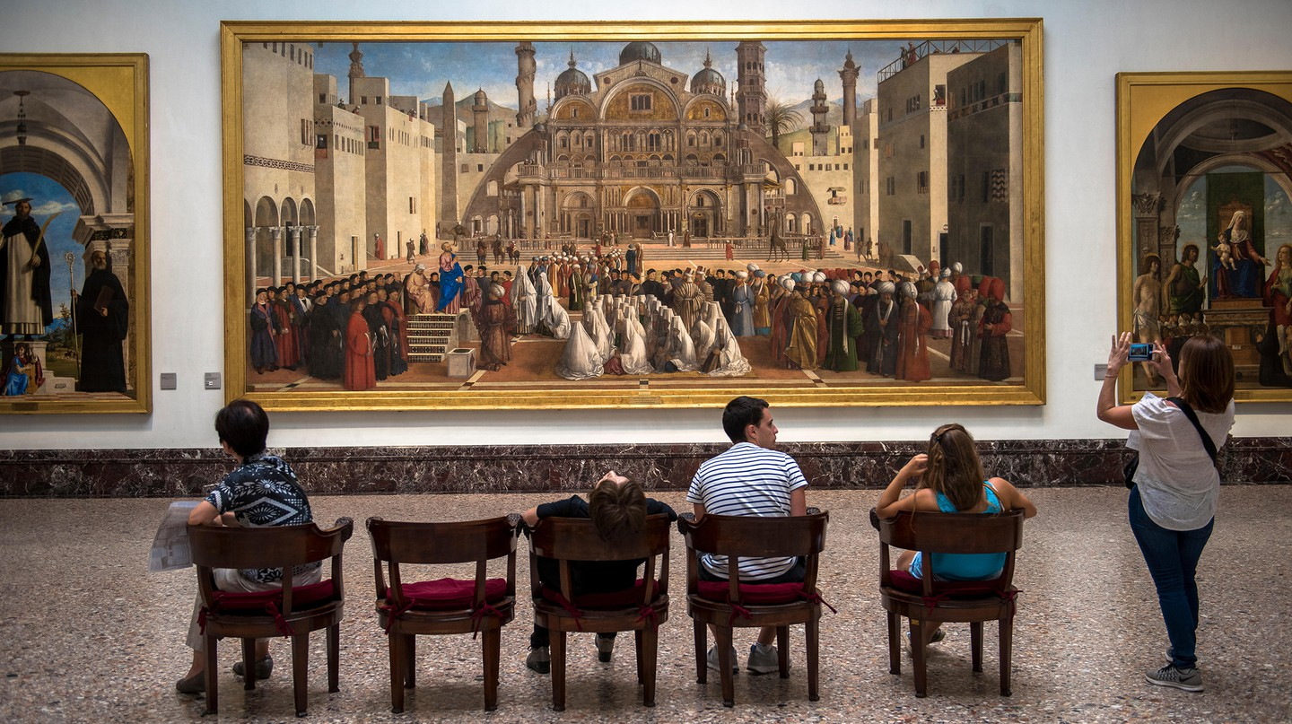 The Pinacoteca di Brera holds many of Milan's artistic masterpieces