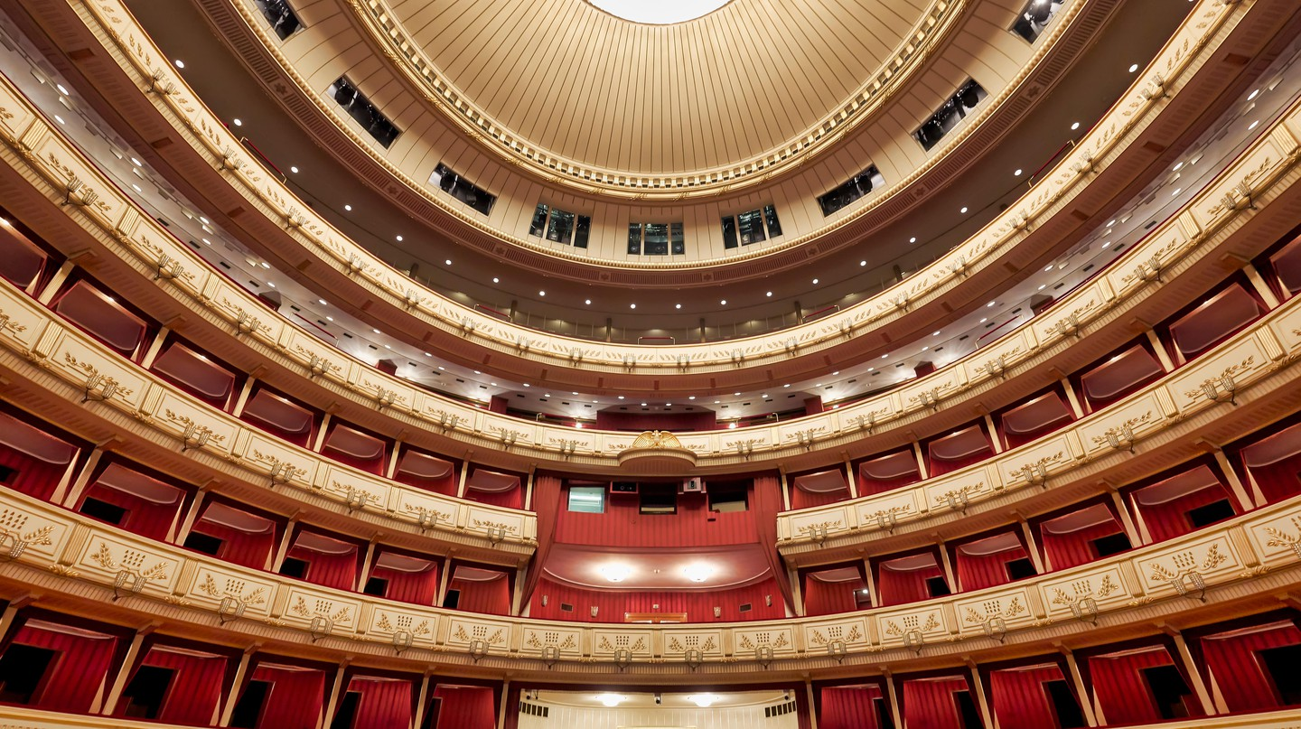 Beethoven and Mozart both performed at Staatsoper, Vienna's opera house