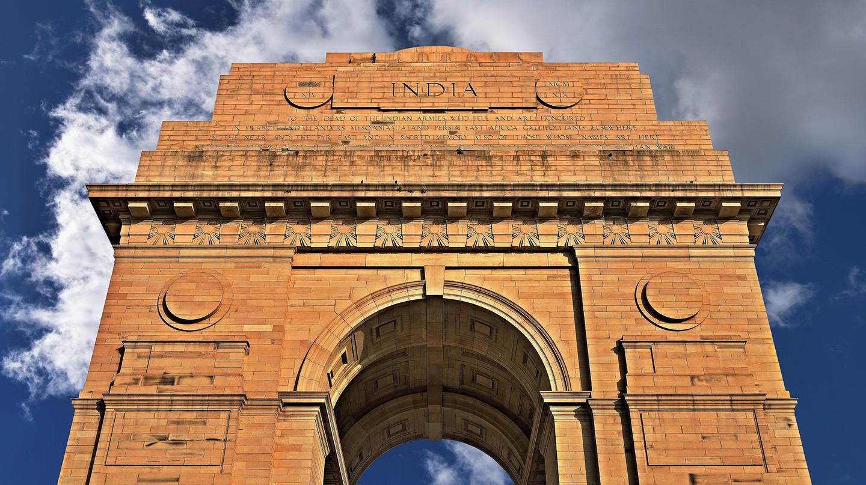 India Gate in New Delhi is a war memorial