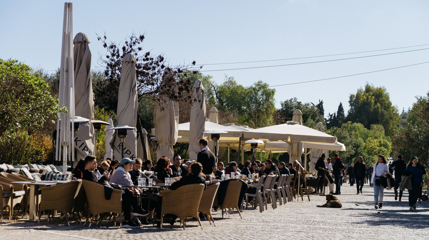 Athens has no shortage of options for an al fresco breakfast