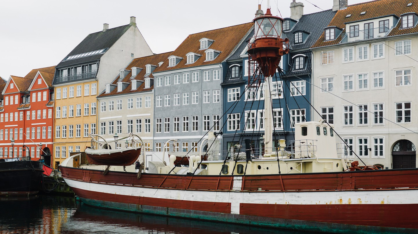 Nyhavn is a 17th-century waterfront, canal and entertainment district